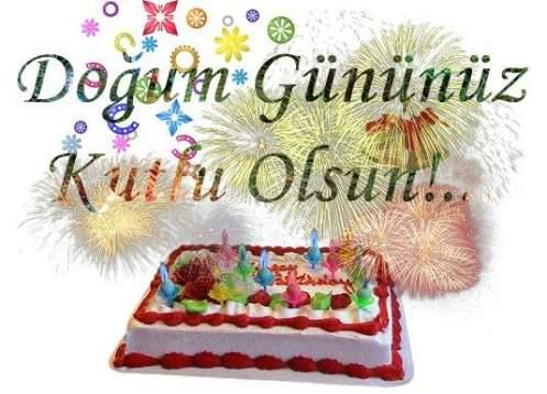 Doğum Gününüz Kutlu Olsun